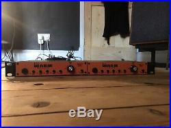 Pair Warm Audio WA12 microphone preamps