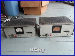 Pair of CA-13 VACUUM TUBE MICROPHONE PREAMPLIFIERS EXTREMELY RARE! AMP