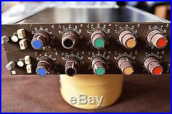 Pair of NEVE 33135A Mic Pre/Channel Strip 1073 1084