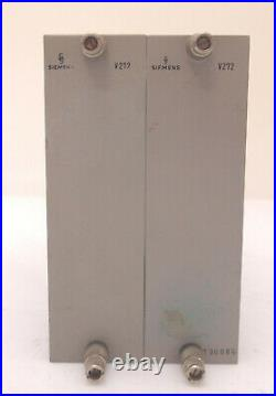 Pair of Siemens V272 Micpres Full Discrete V72 Follower Class A 55dB Option