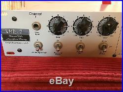 Peavey / AMR VMP-2, Dual Channel Tube Microphone Preamp / EQ