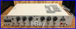 Peavey VMP-2 Dual Channel Vacuum Tube Microphone Preamp with 2-Band EQ