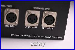 PreSonus ADL600 ADL-600 High Voltage Dual Channel Tube Preamplifier (Preamp)