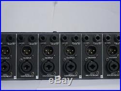Presonus M80 8 Channel Microphone Preamp with Jensen transformers LT1357 op amp