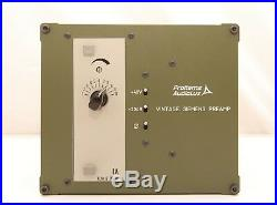 ProItems AudioLux Siemens/ WSW Preamp Neve 1073 Killer w Video