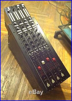 Pro Racked 4x Siemens/ WSW Channel Strips Fantastic Sound