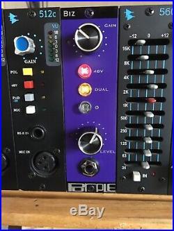 Purple Audio BIZ Preamp API 500 Lunchbox Format