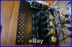Quad Eight 4 Channel Rack of Preamp / EQs Coronado, Pacifica, Ventura Recap