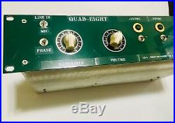 Quad Eight M3 Two Channel Microphone Preamp Custom with Vintage Components