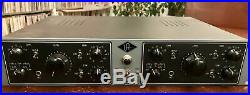 RARE Vintage Universal Audio 2-610 Grayface Dual-Channel Microphone Preamp