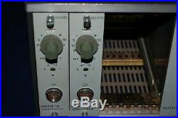 RFT vintage microphone preamp 00011 with PSU made in GDR in 70's