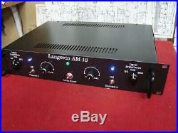 Racked Langevin AM-16 Preamplifer All Brand New