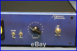 Racked Solo RCA BA-72A mic-preamp
