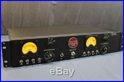 Racked pair of vintage RCA BA-71B preamps
