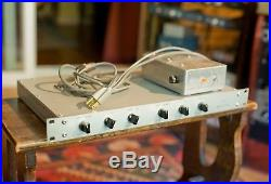 Racked pair of vintage RCA BA-71c preamps germanium excl cond