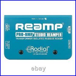 Radial Engineering ProRMP Reamper Pro-RMP Reamp Box Passive