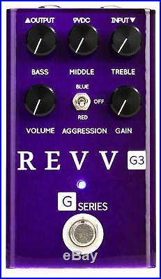 Revv G3 Preamp/Overdrive/Distortion Pedal