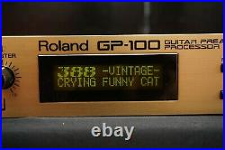 Roland GP-100 Guitar Preamp/Processor Amp Modeling, Multi-Effects & MIDI 100V
