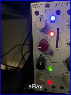 Rupert Neve Designs Portico 511 500-Series Mic Pre Module with Silk Button