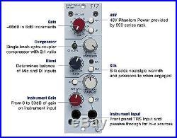 Rupert Neve Designs Portico 517 Mic Pre/DI/Comp + Free Panel Atlas Pro Audio