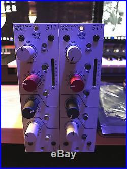 Rupert Neve Designs RND 511 500 Series Pre withSilk (2 Modules)