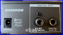SAMSON Voice Channel Tube Microphone Preamplifier and Channel Strip C-VALVE Mic