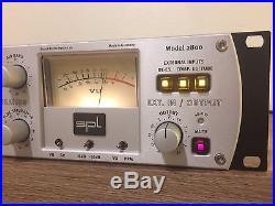 SPL Frontliner Microphone Preamp / Channel Strip! Tube, EQ, Compressor, De-esser