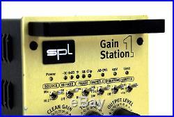 SPL Gainstation 1 Class A Preamp Tube Röhren Vorverstärker Hybrid + OVP + Gewähr
