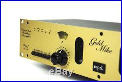 SPL Gold Mike Class A Vacuum Tube Mikrofon Professional Mic Preamp+ OVP + Gewähr