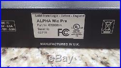 SSL Solid State Logic Alpha VHD 4-Channel Pre Preamp