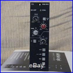 SSL Solid State Logic VHD 500 Series Mic Pre Pro Audio Overdrive