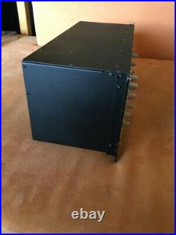 SSL Solid State Logic X-Rack XRack chassis (API, Chandler, Neve)