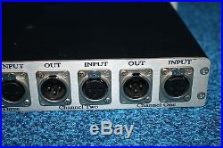 SYTEK MPX-4A Microphone Preamp with Burr Brown strips in channels 3&4