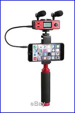 Saramonic SmartMixer Pro Stereo Recording Rig for iPhone/Andoid Smartphones