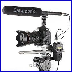 Saramonic SmartRig+ XLR/3.5mm Mic Pre-Amp / Guitar Input to TRRS iPhone/Android