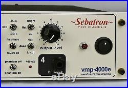 Sebatron VMP-4000e valve preamplifier