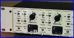 Sebatron vmp-4000e valve mic preamp with'retro' knobs fitted and free shipping