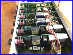 Seventh Circle Audio Mic Preamps (x6) + Chassis N72 (2), J99 (2), A12 (2)