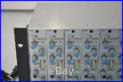 Solid State Logic Modular System Total Recall 8 Modules X-RACK Chassis SSL