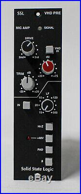 Solid State Logic VHD Microphone Preamp 500 Series Mic Preamp with Box