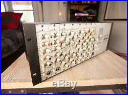 Solid State Logic XLogic Superanalogue X-Rack with 8 modules BUNDLE
