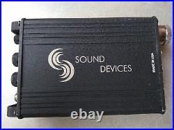 Sound Devices MM-1 Battery-powered mic preamplifier