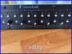 Soundcraft Spirit 8 Channel Mic Pre/Line 24 Bit AD Converter TDIF