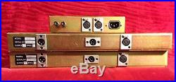 Stereo Pair of Chandler Limited Germanium Preamp/DI with power supply