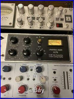 Studio Pre Amp Rack Full Of Goodies