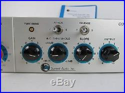 Summit MPC-100A Tube Pre-Amp Compressor/Limiter with Manual