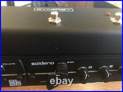 Synergy SYN-2 Tube Preamplifier-R5 Pedal-Soldano SLO and Friedman BE/BB Modules