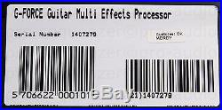 TC Electronic G-Force Hi-End Guitar Multieffects Processor + 1.5 Jahre Garantie
