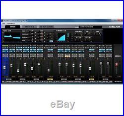 Tascam US-16x08 USB 2.0 Audio MIDI PC Recording Interface Mic Preamp Refurbished