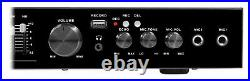 Technical Pro Bluetooth USB/SD Preamp Mixing Recorder with2 Mic Inputs+9 Band EQ